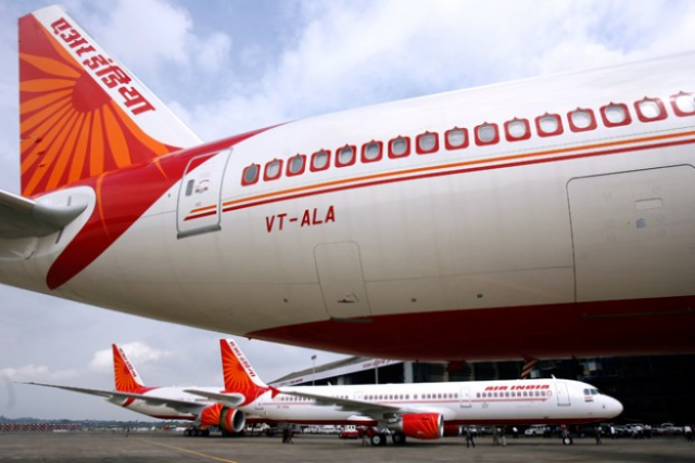 Air India site crashes, like Indian Airlines merger